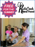 Homeschool Curriculum - Kids Cook Real Food Freebie