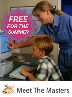 Homeschool Curriculum - Meet the Masters Free for Summer