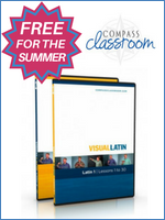 Homeschool Curriculum - Visual Latin Freebie