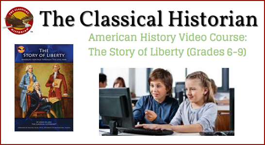 American History, The Story of Liberty - 1-Year Online Subscription