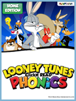Homeschool Curriculum - Looney Tunes Phonics