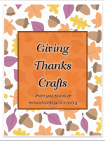 FREE Give Thanks Craft Booklet