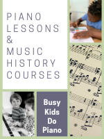 Homeschool Curriculum - Busy Kids Do Piano