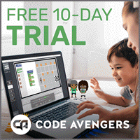 Exclusive Coupon: Code Avengers JR + PRO - Primary Student