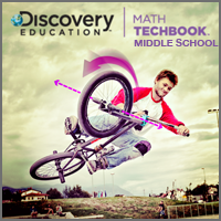 Discovery Education Math Techbook for Middle School